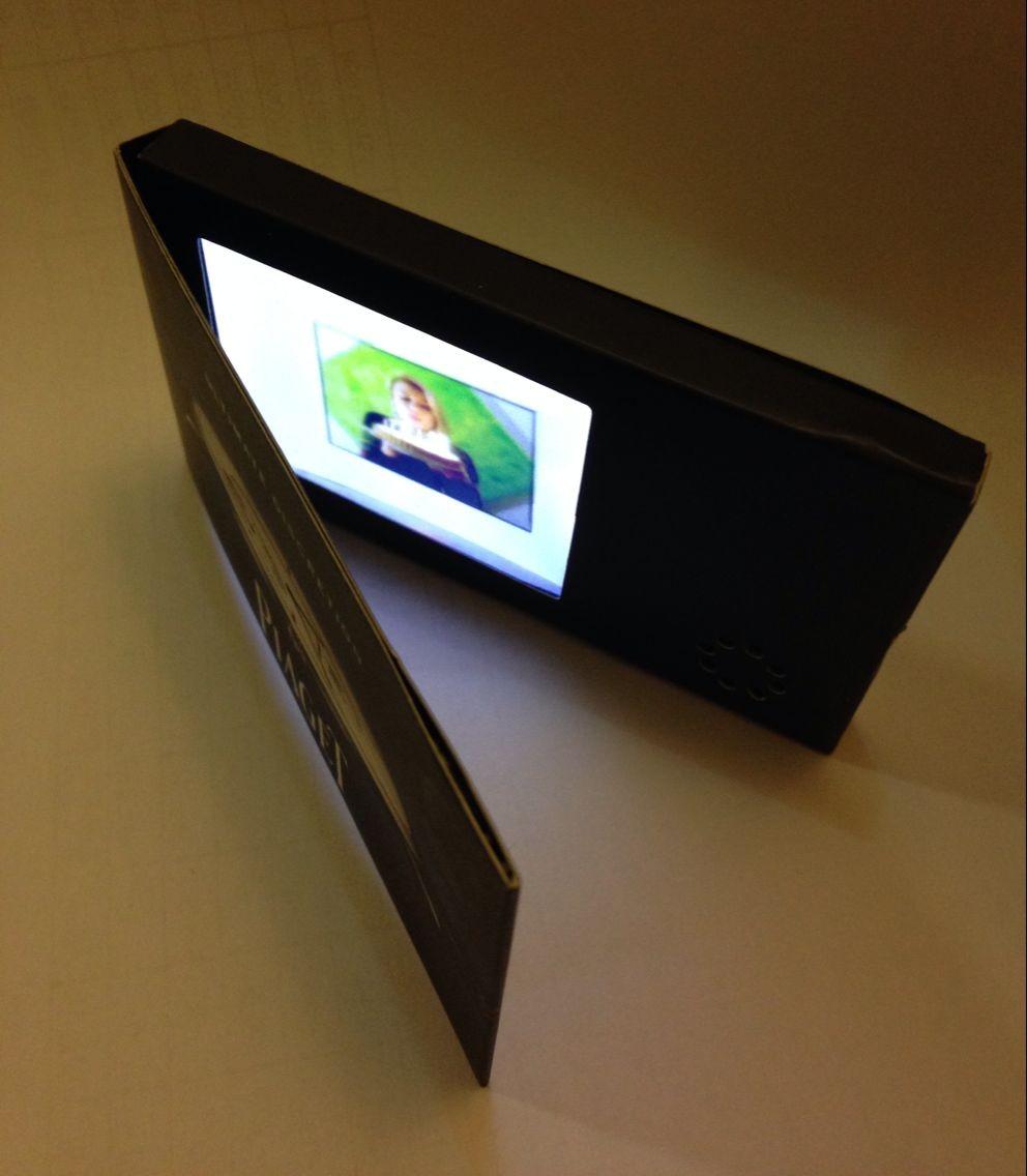 24 Inch Video Greeting Card Video Brochure Video Catalog